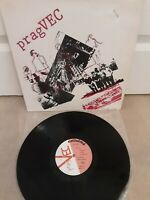 "pragVEC Self Titled Vinyl 12"" French Import LP Celluloid LTD 1040 1979"