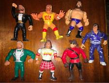 1990 WWF WWE  HASBRO WRESTLING FIGURE LOT HOGAN, PIPER, HONKY TONK AND MORE