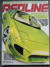 Redline magazine January 2004 Issue 72 Lucy Pinder Green MR2 RARE COLLECT