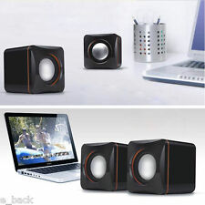 Mini USB Portable Computer Laptop Speaker Multimedia Audio Sounder Speaker New