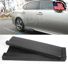 "23"" G4 ABS Side Skirts Rocker Wing Lip Apron Splitter Diffuser For Toyota Scion"