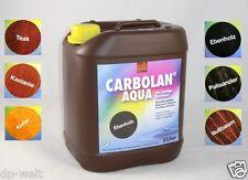 3,16?/L  Carbolan Holzschutz Lasur 5 Liter Holzlasur 5l innen & außen 6 Farben