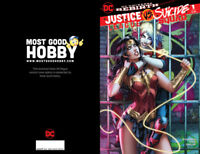 DC Justice League Suicide Squad #1 MGH Exclusive Dawn McTeigue Color Variant NM