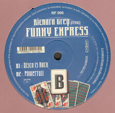 RICHARD GREY  - Beat Goes On - Presents Funky Express - Royal Flush