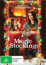 MAGIC STOCKING (2015) Region 4 [DVD] Hallmark Christmas Bridget Regan