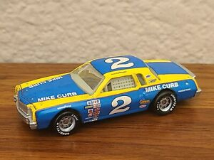"""1980 #2 Dale Earnhardt The Movie """"Champion"""" Charlotte Race Win 1/64 1 of 12"""