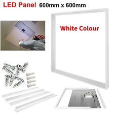 600x600 mm Ceiling LED Panel Light Surface Mount Frame Aluminum Silve Finish Box