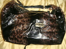 Jimmy Choo Leather Outer Snakeskin Handbags