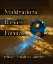 Multinational Business Finance by David K. Eiteman, Arthur I. Stonehill and Mich