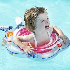 Baby Swimming Ring Float with Seat Inflatable Toddler Pool Swim Ring 6mths-3yrs