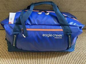 """Eagle Creak """"Migrate"""" 60 L Duffel Mesa Blue New"""