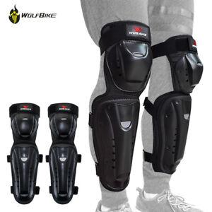 Adult Knee Pads Motorcycle Dirt Bike Knee Protector Racing Safe Leg Guards Brace