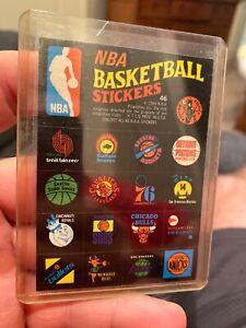 1969 NBA Basketball Stickers Team logos card # 46  Ex