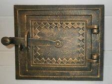 Porta per forno a legno Ghisa Ferro Affumicatoio COLORI 255 x 220mm
