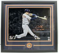 ALEX BREGMAN SIGNED AUTOGRAPH 16X20 PHOTO FRAMED 2018 ASG MVP BECKETT BAS L60566
