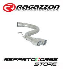 RAGAZZON SCARICO TERMINALI TONDI 2x70 VW GOLF V 5 2.0 TURBO FSI GTI 147kW 200CV