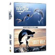 "DVD ""L'Incroyable histoire de Winter le dauphin + Sauvez Willy"" - 2 DVD NEUF"