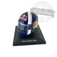 Spark Editions 1:5 Scale David Coulthard 2005 F1 Helmet Casque Casco Formula One