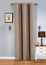 """Grommet BLACK OUT  Window Curtain Drape panel 54""""x84""""each"""