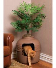 Cat Litter Box Hidden Furniture House Plant Decorative Faux Tree Decor Clean New