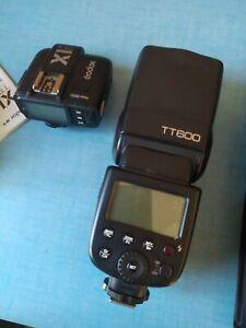 Godox tt600 + X1t-c