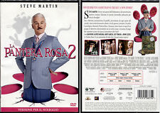 LA PANTERA ROSA 2 (Steve Martin) - DVD NUOVO E SIGILLATO, NO EDICOLA O IMPORT