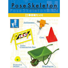 Re-Ment Pose Skeleton - Construction Accessories ( Skeletal Figure Not Included)