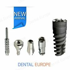 KIT 5 Pcs of Dental Implant, Dental Abutment, Dental Healing-cap,Transfer,Analog