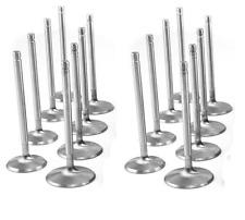 Ford 429 460 Stainless 550hp valves 1.65/2.08 w/valve locks