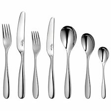 Robert Welch Stanton Bright 84 Piece Cutlery Set  for 12 People Gift Boxed