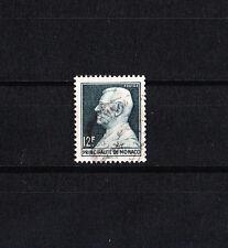 MONACO   prince Louis II   12f vert-noir de 1948/49   num:  305A    oblitéré