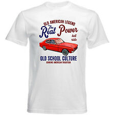 VINTAGE AMERICAN CAR FORD CAPRI MK2 - NEW COTTON T-SHIRT