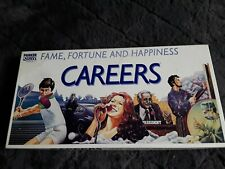 "Vintage ""CAREERS"" board game. By Parker Games 1982. Complete."