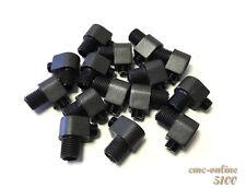 Pendant Strain Relief Cord Grip Retro Cable Lock 10mm Black 5100