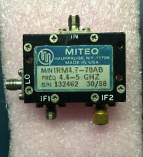 Miteq Microwave ,Mixer , IRM4.7-70AB,  4.4 - 5GHz