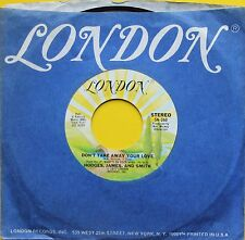 "Vinyle 45T Hodges, James and Smith ""Don't take away your love"""