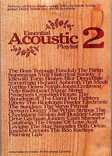 Essential Acoustic Playlist 2 Play Blur Radiohead Piano Guitar Lyrics Music Book