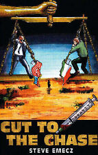 * Signed * Cut to the Chase [PB, 1998] by Steve Emecz {IRA, detective, PI}
