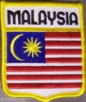 Embroidered International Patch National Flag of Malaysia NEW bunting