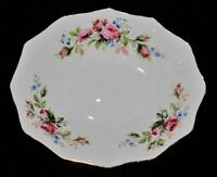 "Royal Albert MOSS ROSE Oval Sweet Meat Dish, 4 3/4"" x 5 3/4"""