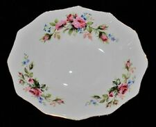 "Royal Albert MOSS ROSE Oval Bowl or Dish, 4 3/4"" x 5 3/4"""