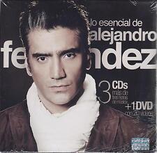 Lo Esencial De Alejandro Fernandez 3 CD NEW + DVD 60 Songs Sealed!