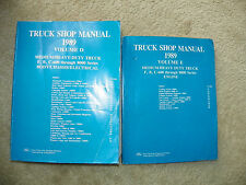 1989 Aerostar Ranger Bronco II Truck Factory Original Service Repair Manuals