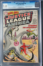 THE BRAVE AND THE BOLD #28 CGC  GRADED1.8 FIRST APPEARANCE OF THE JUSTICE LEAGUE