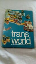 TRANS WORLD STAMP ALBUM with over 300 STAMPS
