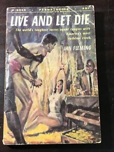 """Ian Fleming, """"Live and Let Die,"""" 1956, Perma M-3048 1st Print"""