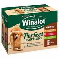Dog food  Winalot Perfect Portions Meat in Gravy - 12 x 100g