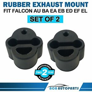 Exhaust Rubber Mount for Ford Falcon AU BA EA EB Fairlane Fairmont Territory x 2