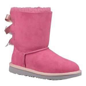 Toddler UGG Bailey Bow II 1017394T Pink Azale Iceland 100% Authentic Brand New