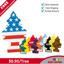 120 Little Trees Hanging Air Freshener Mix Trees Magic Scent-$0.95/tree